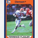 1990-91 Clemson Collegiate Collection #039 Terrence Flagler - Clemson Tigers