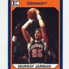 1990-91 Clemson Collegiate Collection #035 Murray Jarman - Clemson Tigers