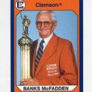 1990-91 Clemson Collegiate Collection #034 Banks McFadden - Clemson Tigers