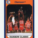 1990-91 Clemson Collegiate Collection #029 Tigers Win Classic - Clemson Tigers