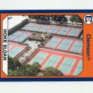 1990-91 Clemson Collegiate Collection #027 Tennis Facilities - Clemson Tigers