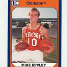 1990-91 Clemson Collegiate Collection #025 Mike Eppley - Clemson Tigers