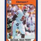 1990-91 Clemson Collegiate Collection #005 Michael Dean Perry - Clemson Tigers
