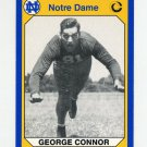 1990 Notre Dame 200 Football #195 George Connor - University of Notre Dame