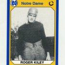 1990 Notre Dame 200 Football #193 Roger Kiley - University of Notre Dame
