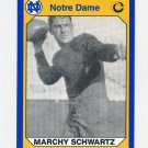 1990 Notre Dame 200 Football #146 Marchy Schwartz - University of Notre Dame