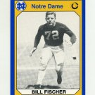 1990 Notre Dame 200 Football #145 Bill Fischer - University of Notre Dame