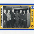 1990 Notre Dame 200 Football #144 Heisman Winners - University of Notre Dame