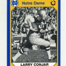 1990 Notre Dame 200 Football #141 Larry Conjar - University of Notre Dame