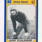 1990 Notre Dame 200 Football #138 Harry Stuhldreher - University of Notre Dame