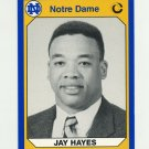 1990 Notre Dame 200 Football #137 Jay Hayes - University of Notre Dame