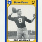 1990 Notre Dame 200 Football #131 Bob Williams - University of Notre Dame