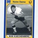 1990 Notre Dame 200 Football #122 Bob Kuechenberg - University of Notre Dame