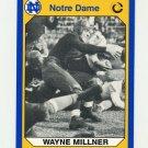 1990 Notre Dame 200 Football #104 Wayne Millner - University of Notre Dame