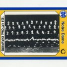 1990 Notre Dame 200 Football #103 1924 National Champs - University of Notre Dame