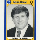 1990 Notre Dame 200 Football #101 Gary Darnell - University of Notre Dame