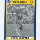 1990 Notre Dame 200 Football #077 Bobby Leopold - University of Notre Dame