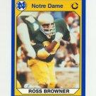1990 Notre Dame 200 Football #072 Ross Browner - University of Notre Dame