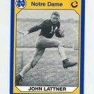 1990 Notre Dame 200 Football #068 John Lattner - University of Notre Dame