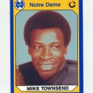 1990 Notre Dame 200 Football #051 Mike Townsend - University of Notre Dame