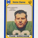 1990 Notre Dame 200 Football #047 Frank Varrichione - University of Notre Dame
