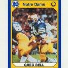 1990 Notre Dame 200 Football #045 Greg Bell - University of Notre Dame