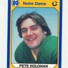 1990 Notre Dame 200 Football #044 Pete Holohan - University of Notre Dame