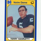 1990 Notre Dame 200 Football #042 Terry Hanratty - University of Notre Dame