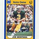 1990 Notre Dame 200 Football #040 Joe Montana - University of Notre Dame