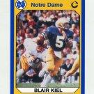 1990 Notre Dame 200 Football #039 Blair Kiel - University of Notre Dame