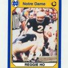 1990 Notre Dame 200 Football #036 Reggie Ho - University of Notre Dame