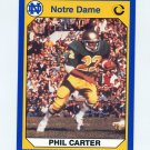1990 Notre Dame 200 Football #022 Phil Carter - University of Notre Dame