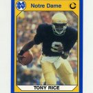 1990 Notre Dame 200 Football #021 Tony Rice - University of Notre Dame