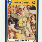 1990 Notre Dame 200 Football #020 Bob Crable - University of Notre Dame