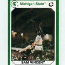 1990-91 Michigan State Collegiate Collection 200 #198 Sam Vincent - Michigan State Spartans