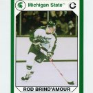 1990-91 Michigan State Collegiate Collection 200 #197 Rod Brind'Amour - Michigan State Spartans