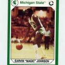 1990-91 Michigan State Collegiate Collection 200 #194 Magic Johnson - Michigan State Spartans