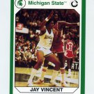 1990-91 Michigan State Collegiate Collection 200 #192 Jay Vincent - Michigan State Spartans