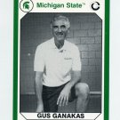 1990-91 Michigan State Collegiate Collection 200 #191 Gus Ganakas - Michigan State Spartans