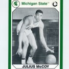 1990-91 Michigan State Collegiate Collection 200 #188 Julius McCoy - Michigan State Spartans