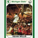 1990-91 Michigan State Collegiate Collection 200 #179 Kevin Willis - Michigan State Spartans