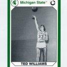 1990-91 Michigan State Collegiate Collection 200 #173 Ted Williams - Michigan State Spartans