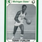 1990-91 Michigan State Collegiate Collection 200 #171 Terry Furlow - Michigan State Spartans