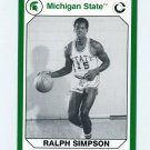 1990-91 Michigan State Collegiate Collection 200 #170 Ralph Simpson - Michigan State Spartans