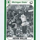1990-91 Michigan State Collegiate Collection 200 #163 Kevin Willis - Michigan State Spartans