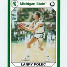 1990-91 Michigan State Collegiate Collection 200 #162 Larry Polec - Michigan State Spartans