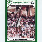 1990-91 Michigan State Collegiate Collection 200 #158 Ken Redfield - Michigan State Spartans