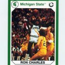 1990-91 Michigan State Collegiate Collection 200 #150 Ron Charles - Michigan State Spartans