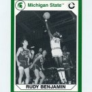 1990-91 Michigan State Collegiate Collection 200 #142 Rudy Benjamin - Michigan State Spartans