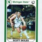 1990-91 Michigan State Collegiate Collection 200 #140 Scott Skiles - Michigan State Spartans